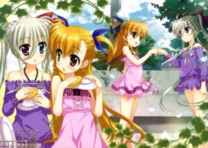 Rating: Questionable Score: 30 Tags: dress einhart_stratos fujima_takuya heterochromia mahou_shoujo_lyrical_nanoha mahou_shoujo_lyrical_nanoha_vivid summer_dress vivio User: drop