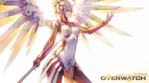 Rating: Safe Score: 30 Tags: 'o'ne bodysuit mercy_(overwatch) overwatch wallpaper weapon wings User: charunetra