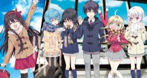 Rating: Questionable Score: 13 Tags: amagami_sora amakusa_kanade chocolat_(noukome) ore_no_nounai_sentakushi_ga_gakuen_love-comedy_wo_zenryoku_de_jama_shiteru sawaboshi_sunao yukihira_furano yukiwo yuuouji_ouka User: kiyoe