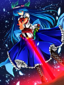 Rating: Safe Score: 15 Tags: hinanawi_tenshi nekominase sword touhou User: Injection