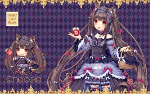 Rating: Questionable Score: 40 Tags: animal_ears chibi chocola gothic_lolita halloween lolita_fashion neko_works nekomimi nekopara sayori thighhighs wallpaper User: Anonymous