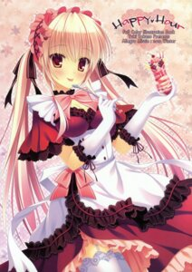 Rating: Safe Score: 61 Tags: allegro_mistic maid stockings takano_yuki thighhighs User: tbchyu001