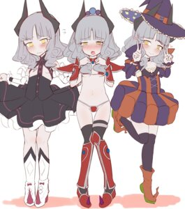 Rating: Questionable Score: 19 Tags: armor bikini_armor carmilla_(fate/grand_order) dress fate/grand_order heels horns loli makano_mucchi no_bra skirt_lift thighhighs underboob witch User: Radioactive