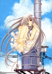 Rating: Safe Score: 15 Tags: chii chobits clamp dress summer_dress User: Share