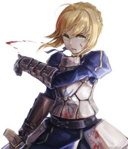 Rating: Questionable Score: 41 Tags: armor blood dress fate/stay_night labombardier! saber sword User: Mr_GT