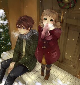 Rating: Safe Score: 9 Tags: aoshiki christmas User: hobbito