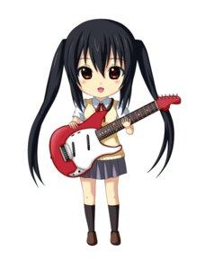 Rating: Safe Score: 24 Tags: chibi guitar jpeg_artifacts k-on! kuena nakano_azusa seifuku User: shizukane