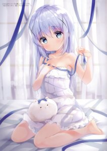 Rating: Safe Score: 85 Tags: amedama_con breast_hold gochuumon_wa_usagi_desu_ka? kafuu_chino tippy_(gochuumon_wa_usagi_desu_ka?) User: kiyoe
