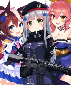 Rating: Safe Score: 33 Tags: animal_ears cleavage crossover fate/grand_order girls_frontline gun hk416_(girls_frontline) kitsune tagme tamamo_no_mae thighhighs toukai_teio uma_musume_pretty_derby User: sym455