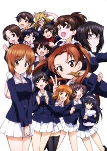 Rating: Safe Score: 12 Tags: akiyama_yukari animal_ears caesar girls_und_panzer isobe_noriko isuzu_hana kadotani_anzu kawashima_momo koyama_yuzu megane nakajima_(girls_und_panzer) nekonyaa nishizumi_miho reizei_mako sawa_azusa sono_midoriko takebe_saori thighhighs uniform User: drop