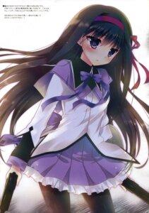 Rating: Safe Score: 43 Tags: akemi_homura dress gun hisama_kumako moco_chouchou pantyhose puella_magi_madoka_magica User: Twinsenzw