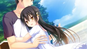 Rating: Safe Score: 33 Tags: amatsu_sasha any dress game_cg natsu_no_majo_no_parade wonder_fool User: 桃花庵の桃花