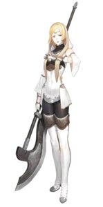Rating: Safe Score: 16 Tags: heels keemu_(occhoko-cho) pantyhose thighhighs weapon User: Dreista