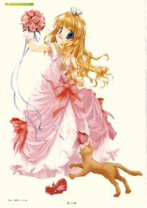 Rating: Safe Score: 9 Tags: dress goto_nao neko User: yumichi-sama