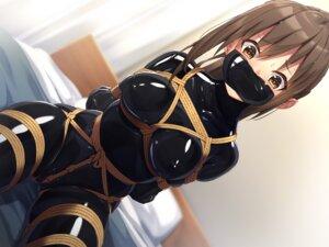 Rating: Questionable Score: 53 Tags: bodysuit bondage cameltoe erect_nipples tagme User: BattlequeenYume