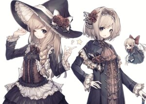 Rating: Safe Score: 21 Tags: alice_margatroid dress hito_komoru kirisame_marisa lolita_fashion touhou witch User: Dreista