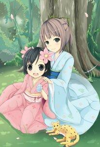 Rating: Safe Score: 22 Tags: japanese_clothes kimono minecraft sakuraba_hikaru User: SciFi