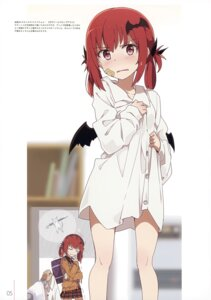 Rating: Safe Score: 79 Tags: bandaid dress_shirt gabriel_dropout kurumizawa_satanichia_mcdowell milky_been! ogipote seifuku sweater wet wings User: Hatsukoi