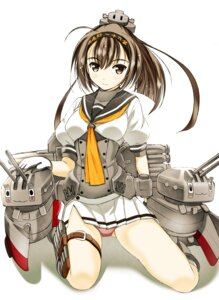 Rating: Safe Score: 25 Tags: akizuki_(kancolle) kantai_collection komiya_toshimasa pantsu User: fairyren