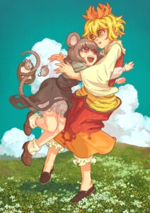 Rating: Safe Score: 2 Tags: momiji nazrin toramaru_shou touhou User: Mr_GT