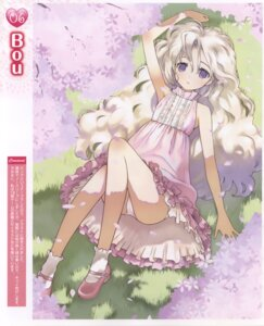 Rating: Questionable Score: 25 Tags: bou dress pantsu summer_dress User: androgyne