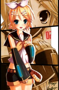 Rating: Safe Score: 15 Tags: fixed kagamine_rin kouken seifuku vocaloid User: fireattack