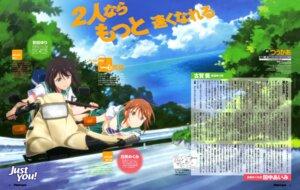 Rating: Safe Score: 17 Tags: meguro_megumi miyata_yuri seifuku twocar yamayoshi_kazuyuki User: drop