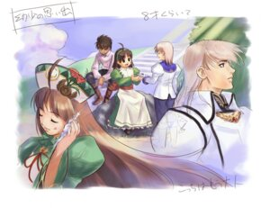 Rating: Safe Score: 3 Tags: atelier atelier_viorate bartholomaus_platane futaba_jun rodefried_santar viorate_platane User: Radioactive