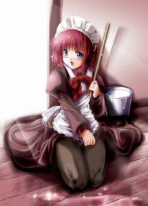 Rating: Safe Score: 12 Tags: hisui maid pantyhose tsukihime yukirin User: Radioactive