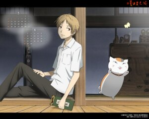 Rating: Safe Score: 3 Tags: calendar jpeg_artifacts male natsume_takashi natsume_yuujinchou neko nyanko wallpaper User: Devard