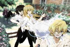 Rating: Safe Score: 5 Tags: crease emily_(pandora_hearts) gilbert_nightray heterochromia male oz_vessalius pandora_hearts screening vincent_nightray wet xerxes_break User: acas