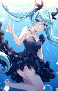 Rating: Safe Score: 26 Tags: dress hatsune_miku no_bra shinkai_shoujo_(vocaloid) skirt_lift tess_(88884) vocaloid wet User: Arsy