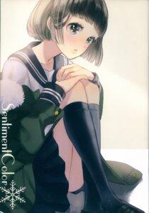 Rating: Questionable Score: 18 Tags: ancotaku seifuku sentiment_color User: Radioactive