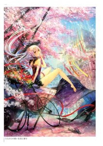 Rating: Questionable Score: 22 Tags: dress fuumi landscape User: Twinsenzw