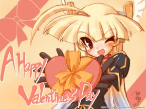 Rating: Safe Score: 7 Tags: gouen_no_soleil nanashiki_rin skyfish tsurugi_hagane valentine wallpaper User: yumichi-sama
