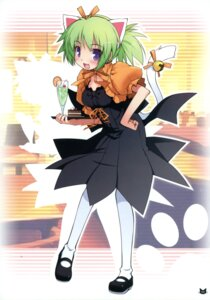 Rating: Safe Score: 20 Tags: animal_ears haga_yui nekomimi tail thighhighs waitress User: blooregardo