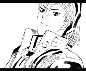 Rating: Safe Score: 5 Tags: bak_chan d.gray-man hoshino_katsura male monochrome User: Radioactive