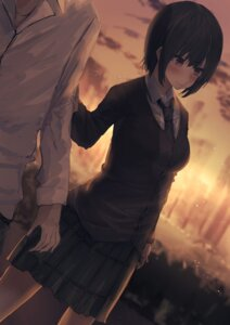 Rating: Safe Score: 22 Tags: boku_wa_tomodachi_ga_sukunai kumamoto_nomii-kun mikazuki_yozora seifuku sweater User: Mr_GT