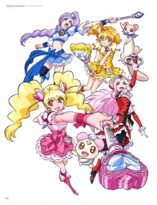 Rating: Safe Score: 3 Tags: dress fresh_pretty_cure! heels pantyhose pretty_cure thighhighs weapon User: drop