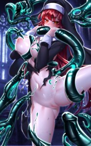 Rating: Explicit Score: 23 Tags: been bondage bottomless breast_grab breasts censored elesis elsword nipples no_bra nun open_shirt pussy torn_clothes User: BattlequeenYume