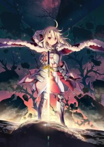 Rating: Safe Score: 44 Tags: armor cosplay fate/kaleid_liner_prisma_illya fate/stay_night hiroyama_hiroshi illyasviel_von_einzbern saber sword User: kiyoe