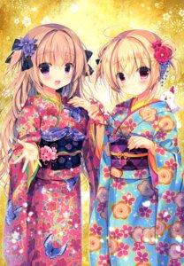 Rating: Safe Score: 20 Tags: canvas+garden hoshigaoka_ciel kimono miyasaka_miyu rina_(canvas+garden) User: lightsnow