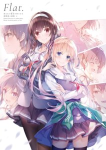 Rating: Questionable Score: 20 Tags: misaki_kurehito possible_duplicate saenai_heroine_no_sodatekata User: Twinsenzw