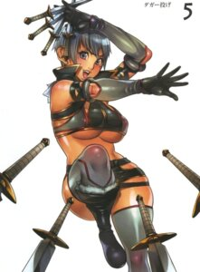 Rating: Questionable Score: 22 Tags: f.s irma melona queen's_blade thighhighs underboob weapon User: HSkeleton