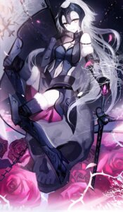 Rating: Explicit Score: 32 Tags: armor fate/grand_order heels jeanne_d'arc jeanne_d'arc_(alter)_(fate) moemoe3345 sword thighhighs User: Mr_GT
