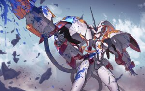 Rating: Safe Score: 29 Tags: darling_in_the_franxx horns mecha strelizia tagme weapon User: Spidey