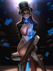 Rating: Explicit Score: 52 Tags: armor breasts cum heels leotard liang_xing nipples no_bra open_shirt overwatch symmetra_(overwatch) thighhighs torn_clothes User: Mr_GT