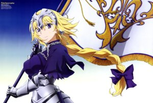 Rating: Safe Score: 54 Tags: armor fate/apocrypha fate/stay_night ruler_(fate/apocrypha) sword tokuoka_kouhei User: drop