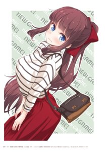 Rating: Questionable Score: 8 Tags: new_game! takimoto_hifumi tokunou_shoutarou User: kiyoe