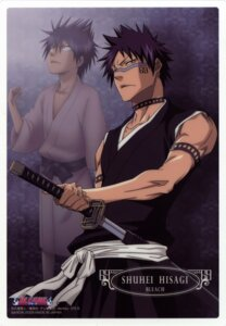 Rating: Safe Score: 10 Tags: bleach hisagi_shuuhei male sword User: charunetra